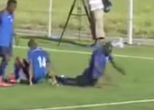 """Video: hizo un gol, festejó como """"gusanito"""" y a los minutos falleció"""