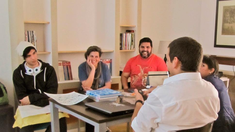 Nuevas maneras de emprender y trabajar creativamente for Centro de trabajo oficina