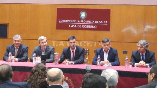 Frigerio se reúne con gobernadores del Norte