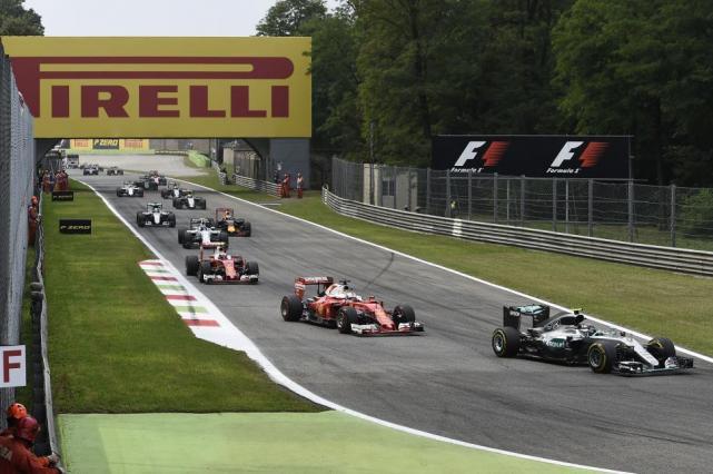 Hamilton fue el más veloz en los ensayos libres de Monza