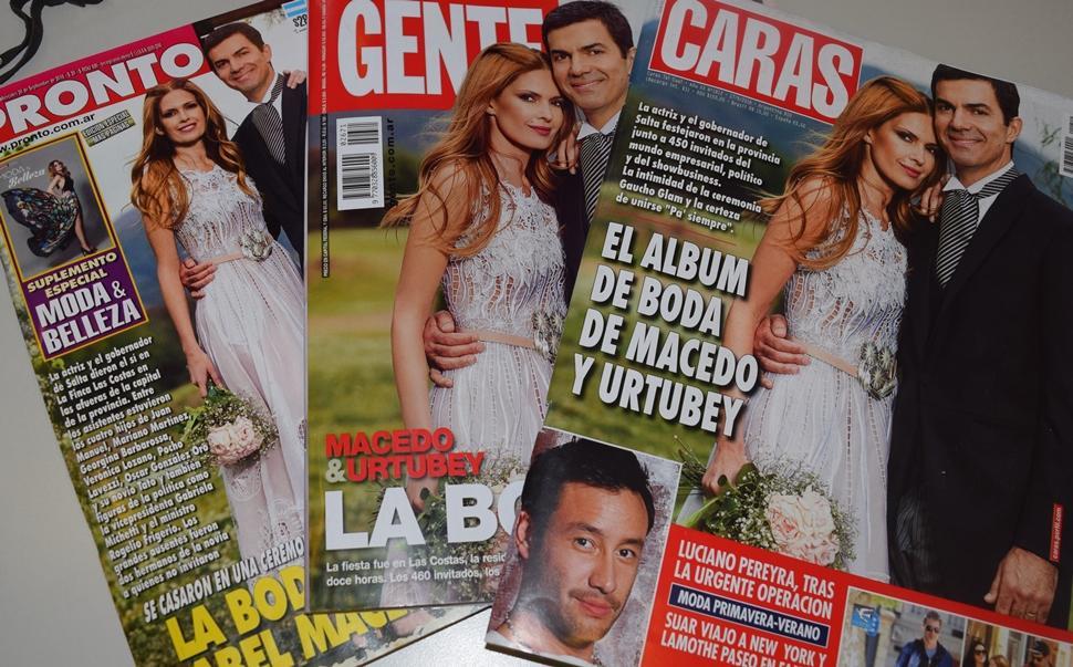 Qu cuentan las revistas de f randula de la boda de for Revistas de espectaculos