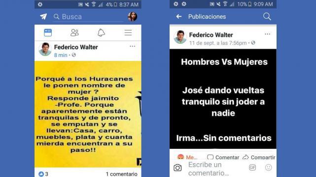 Candidato a concejal por Vaquero publicó chistes machitas  y lo escracharon en las redes