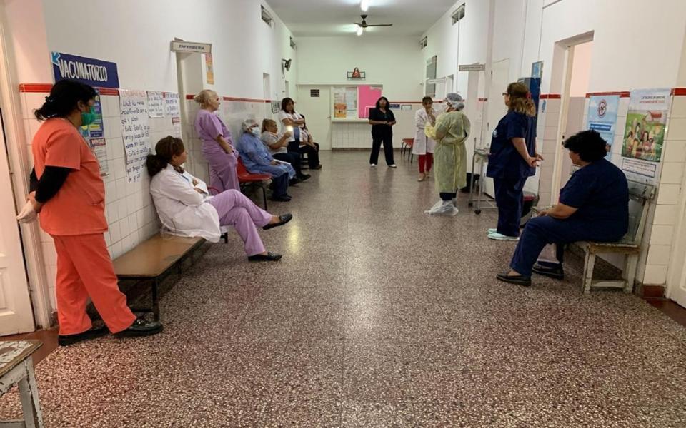 El gobierno de Salta acepta que los médicos no tienen todos los elementos para afrontar la pandemia